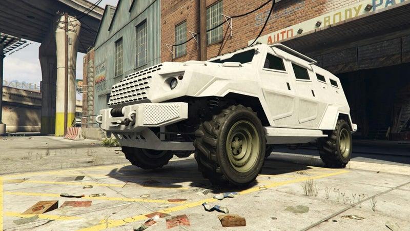 Gta5 特殊 車両