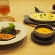 グラタンと鮭のポン酢…
