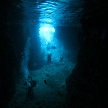 今日も青の洞窟行って…