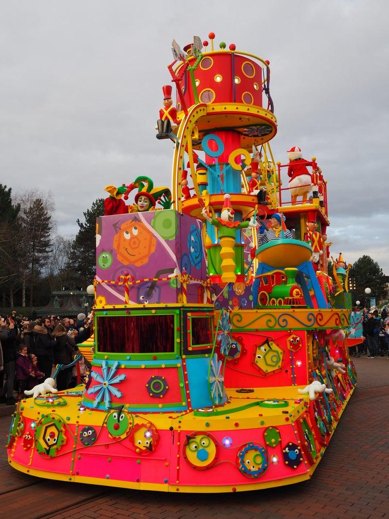 年末年始 ディズニーランド パリ⑤パレード&ショー | ミント✩のゆるい