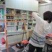 校了したのでワークショップ解禁!!咲きおり・東京手織機・ディビィッド+ダーリンに手織りハンチング