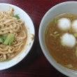 麻醤麺と魚丸湯