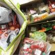 産直市場で野菜の調達…