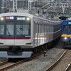 (1/20)51092F青い奴と東急5050系4108Fの並走!