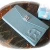 三つ折り携帯ケース・ティファニーカラーでの画像