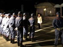 猪名川町消防団年末警戒巡視