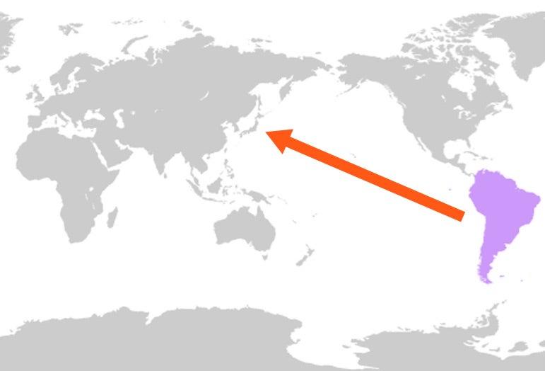 東京 から ロサンゼルス 距離