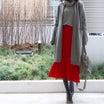 UNIQLO 気分が上がるUniqloUの赤のニットスカート