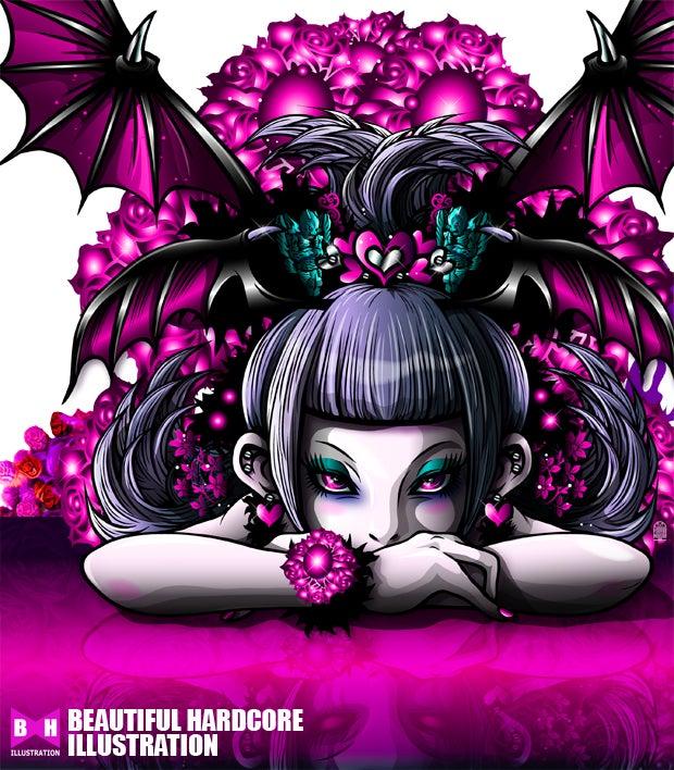 小悪魔イラスト Exotic Dusk プリティーヴァンパイア ビューティフル