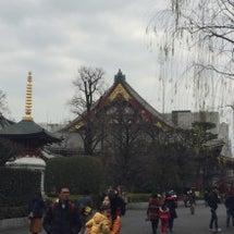 1月20日 浅草にて