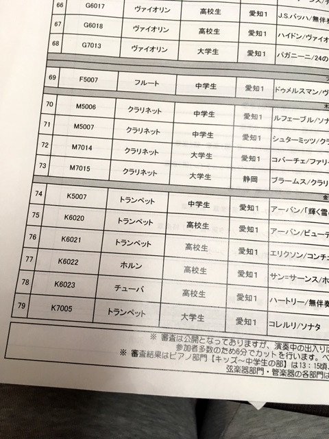 全日本ジュニアクラシック音楽コンクール | 黒柴犬 タロののほほん日記