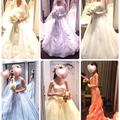 【ミラコスタ結婚式♡第1章の3】《衣装合わせ 〜第1回〜》①衣装選びの記事に添付されている画像