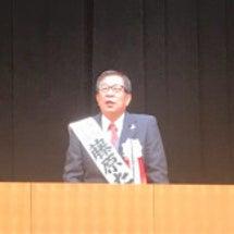 藤原龍男市長、3期目…