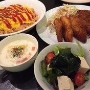 【昨日の晩ごはん☆残り野菜はとりあえず冷凍!】
