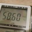 体重測定ビフォーアフ…