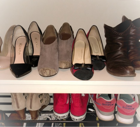 今すぐできる整理収納。一足多く収納できる靴の並べ方
