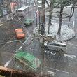 雪の東京 交通影響が…