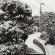 すっかり 雪景色 .…