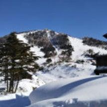 大雪と最高の万座温泉…