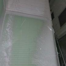 ひどい雪(´Д`)