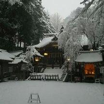 八王子の雪!