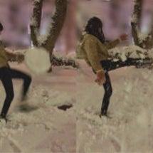 ☆りゃーーーー雪だー…