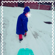 雪遊び堪能