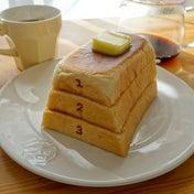 とび箱パンのトースト  パンドサンジュ