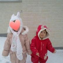 私立国立小学校の大雪…
