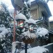 学校に行くのは雪遊び…