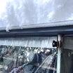 ◆大雪警報!!!多肉棚の屋根の雪が〜大変な事に??
