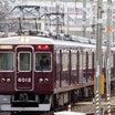 阪急電車 6012F4連化 出場回送