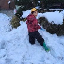 積雪25cm!
