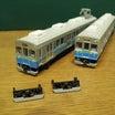 鉄道コレクション 伊豆急8000系にGMの1000系スカート従来型を装備する