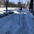雪が降った次の日は。