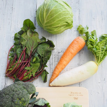 農薬を使用しない野菜…