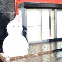 雪だるま(*^-^*…
