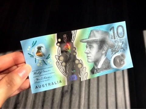 オーストラリアの新10ドル紙幣♪ ...