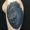刺青★ライオン(腕)ブラックアンドグレー!の画像