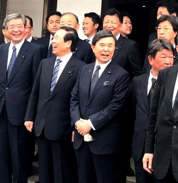 自民党総裁選次第】分裂? 額賀派(平成研)のおしりと参院自民党 ...