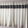 ◆施工事例◆海外生地を使ったお洒落なオリジナルオーダーカーテンの画像