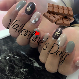 Valentine Nail ♪の画像