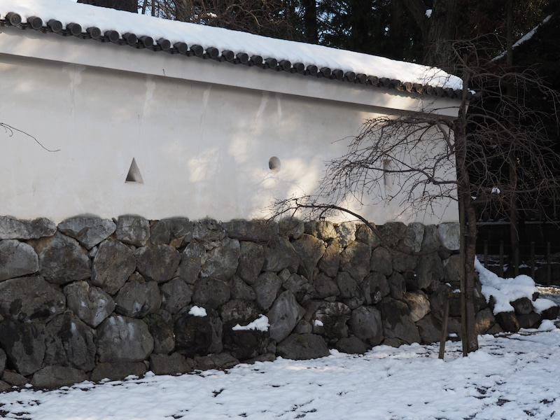 冬の大垣城2018-4