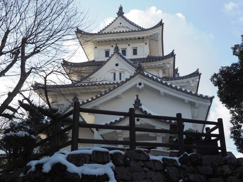 冬の大垣城2018-3