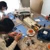 【体験レッスン】埼玉からレッスンに!レジンで作るべっ甲柄ヘアアクセサリーの画像