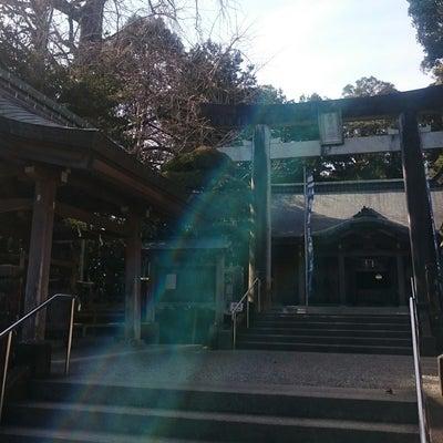 """■ご神気当たりをした事。""""ムフムフ♡の45回 神武天皇様の宮崎神宮さんで不思議写の記事に添付されている画像"""