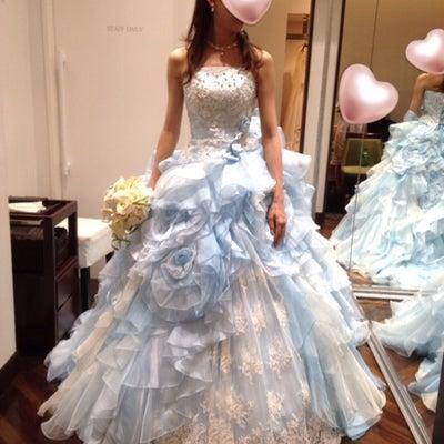 【ミラコスタ結婚式♡第1章の13】《衣装合わせ〜2回目〜》③Cドレス試着の記事に添付されている画像