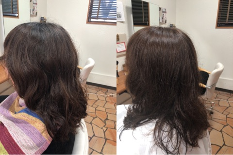 髪質改善カットコース