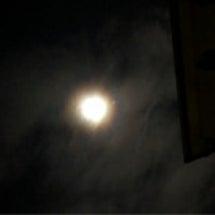 お月様が美しい〜