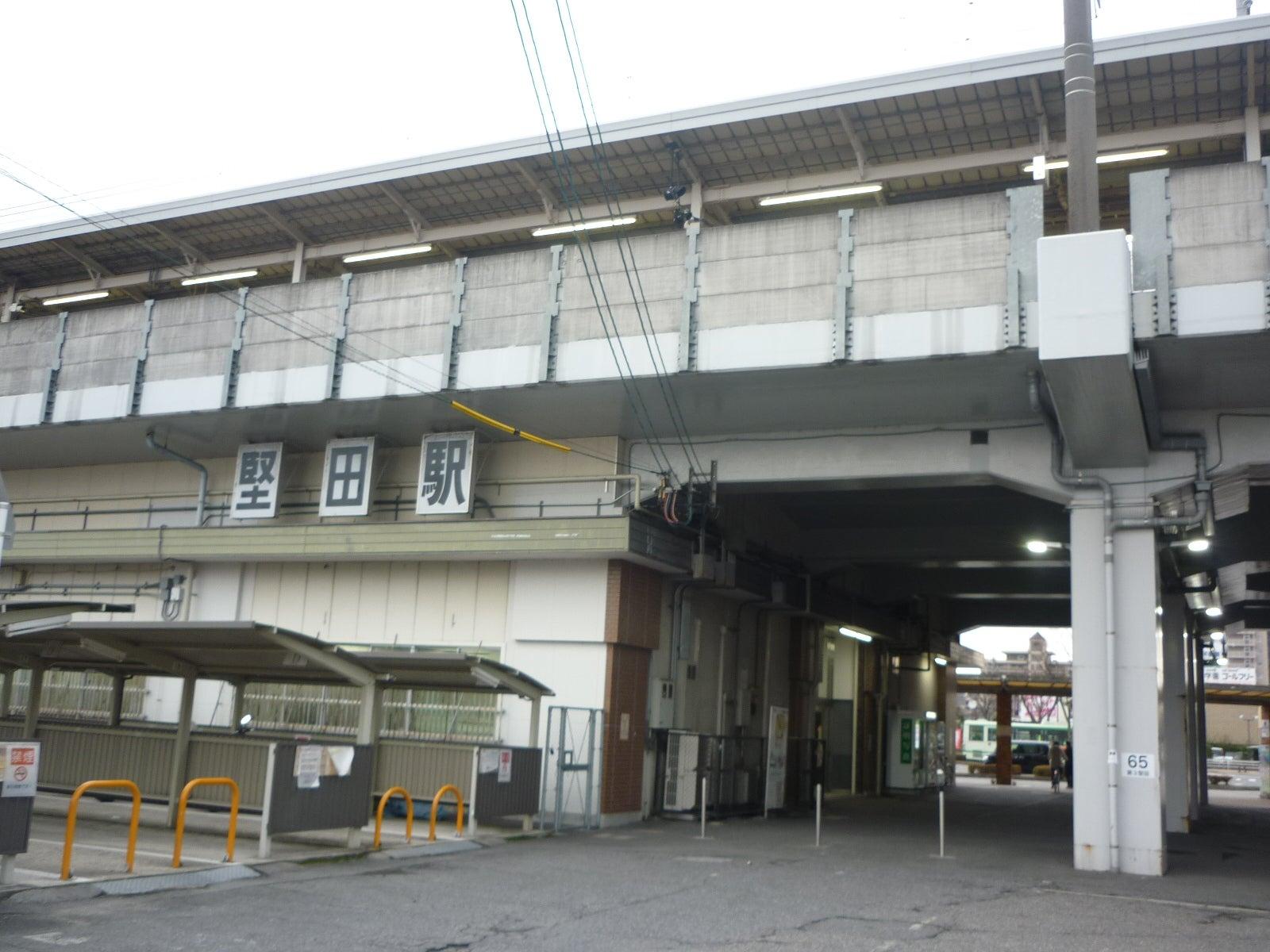 湖西線堅田駅